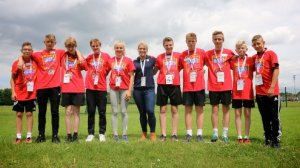 Rugby Star Rachael Burford, an inspiration to all at the Suffolk School Games