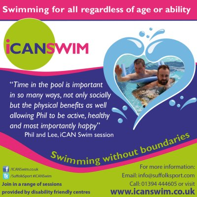 iCAN Swim sharing success
