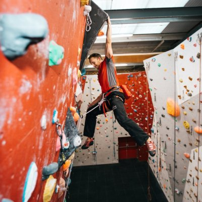 New climbing group to help visually impaired students to get active.