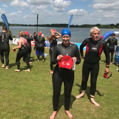 Life changing opportunity to take part in the Great East Swim