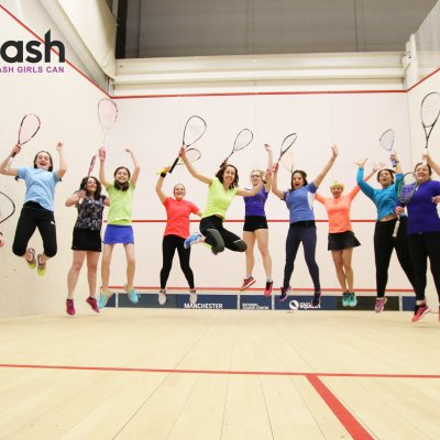 England Squash launches new campaign to entice more females on court