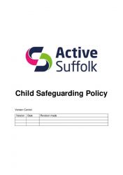 Safeguarding Policy July 2019