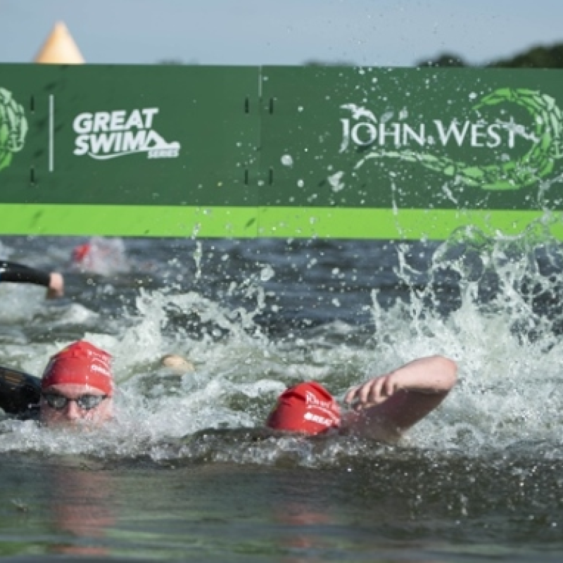 Swimmers of all abilities take on 2019 John West Great East Swim