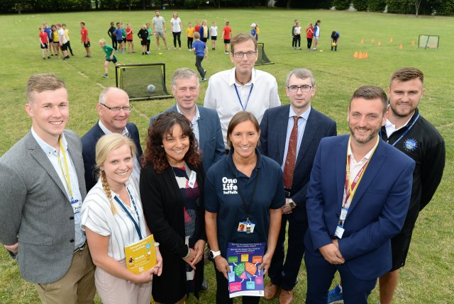Councils Team Up with CCGS and Active Suffolk to Launch Active Schools Project