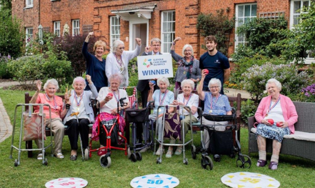 Sudbury care home crowned Olympics champions