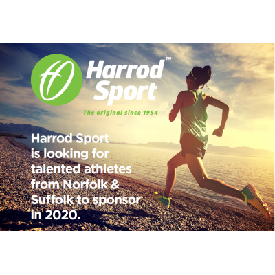 Harrod Sport is looking for talented atheletes to sponsor in 2020