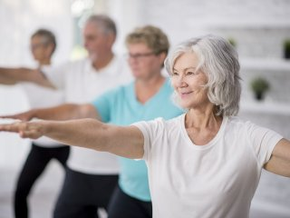 Home exercises for older adults
