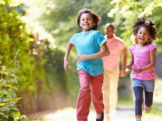 Physical activity for young people and families