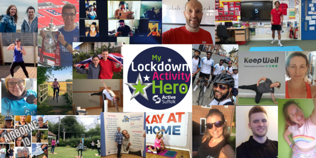 Active Suffolk gives recognition to over 50 individuals as part of their Lockdown Activity Hero campaign