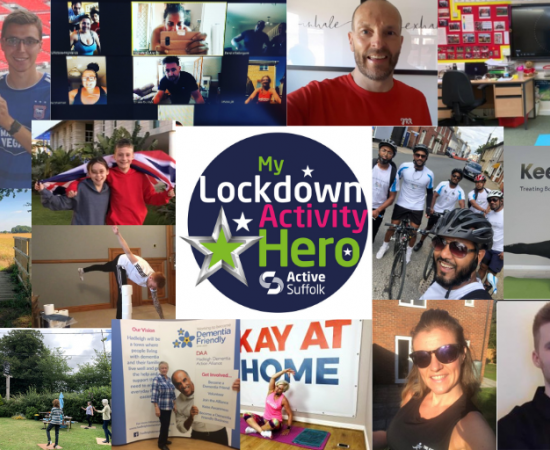 Over 50 individuals recognised across Suffolk as Lockdown Activity Heroes