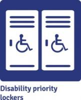 Image: Disability priority lockers