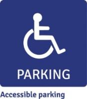 Image: Accessible parking