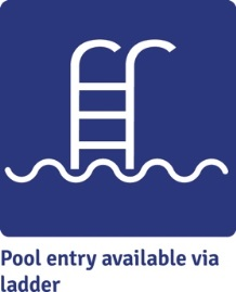 Pool entry available via ladder