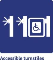 Accessible turnstiles