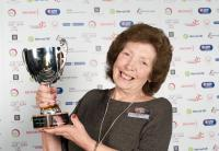 Image: Active Waveney and Sentinel Leisure Lifetime Achievement Award winner Sheelagh Watts