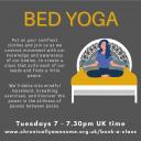 Bed Yoga Icon