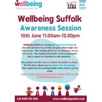 Wellbeing Suffolk Awareness Session