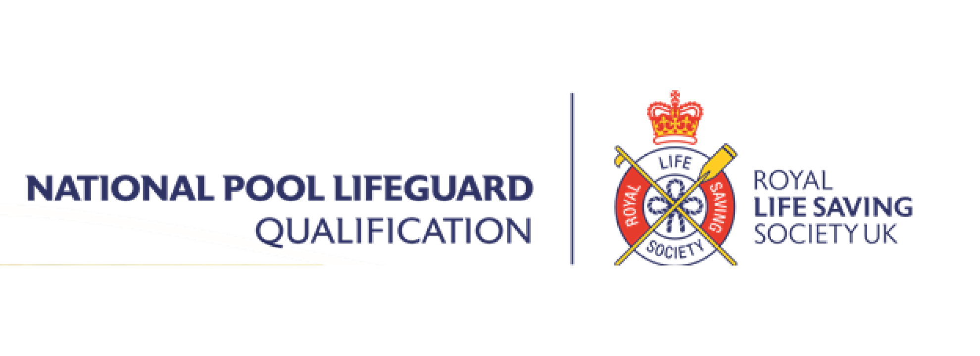 National Pool Lifeguard Qualification Banner