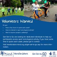 Herefordshire Mind Get Set Go Volunteers