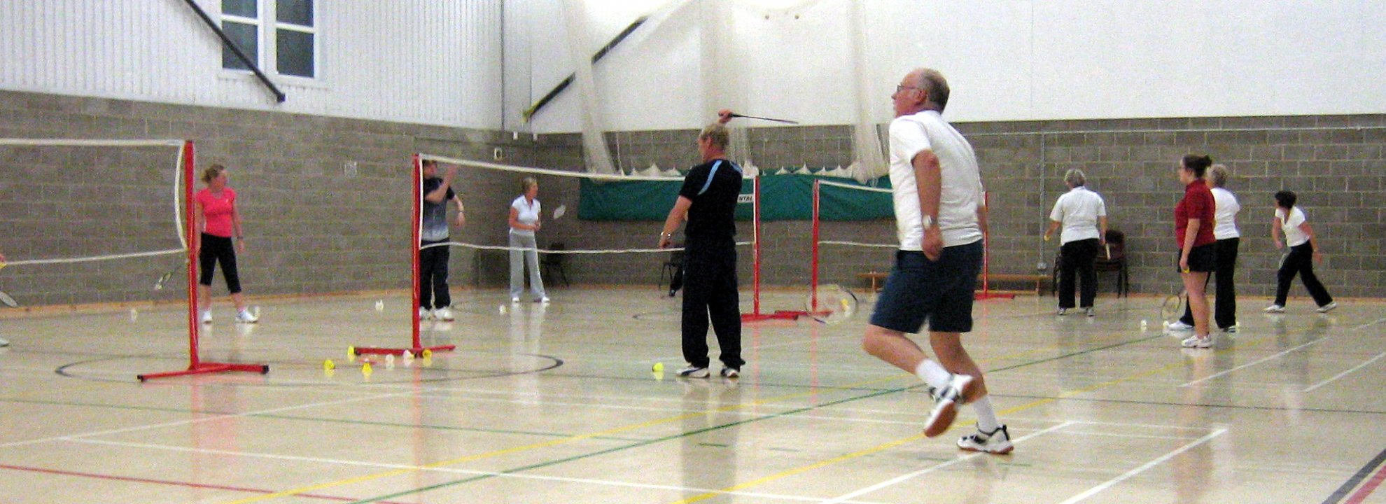 Recreational Badminton at Kesgrave Banner