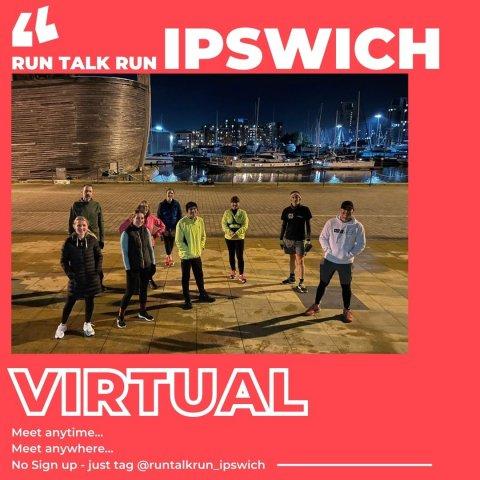Run Talk Run Ipswich Banner